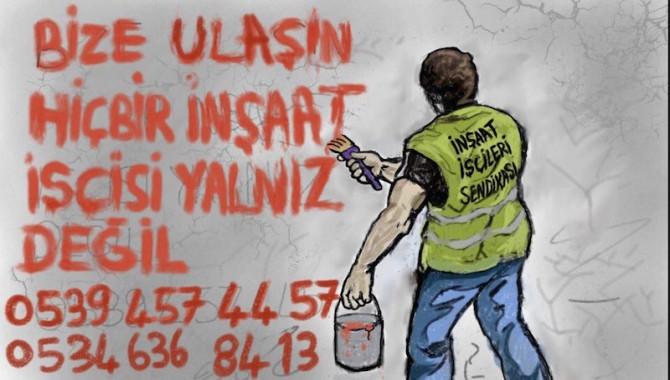 İnşaat İşçileri Sendikası:Virüs bahanesiyle ışinden olan işçilere destek vermeye çağırıyoruz