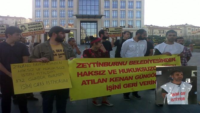 İşi için 172 gün belediye önünde direndi, şimdi Ankara'ya yürüyecek