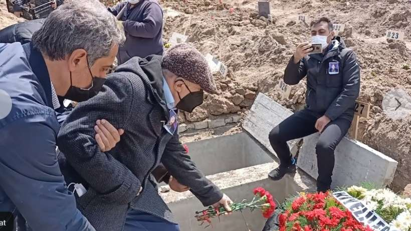 İsmail Beşikçi eşini kaybetti I Leman Beşikçi Ankara'da toprağa verildi