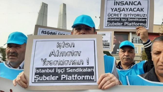 İstanbul'daki işçilerin durumu raporlaştırıldı