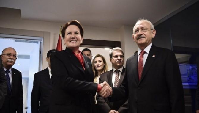 'İyi Parti-CHP ittifakında anlaşma sağlandı