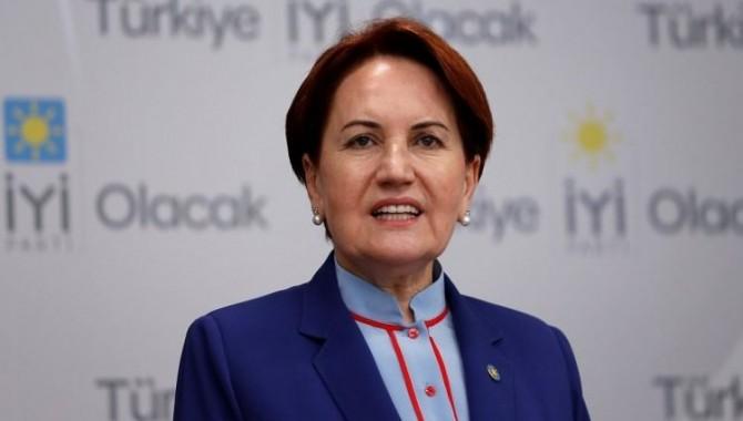 İyi Parti Genel Başkanı Meral Akşener'den, Bahçeli hakkında suç duyurusu