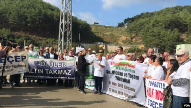 İzmir Efemçukuru'ndan Kazdağları'na yürüyüş devam ediyor