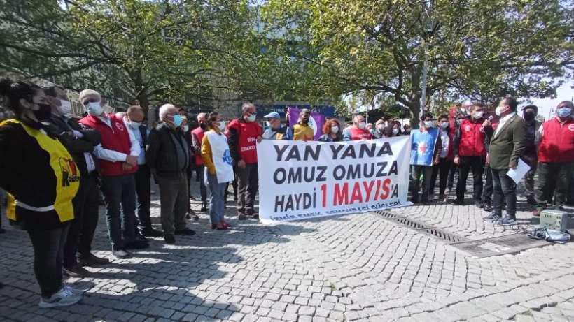 İzmir Emek ve Demokrasi Güçleri'nden çağrı: Haydi 1 Mayıs'a