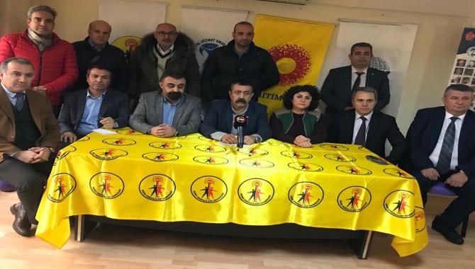 """İzmir'de 11 Ocak'ta """"İnsanca Yaşam, Demokratik Bir Türkiye İstiyoruz""""mitingi"""