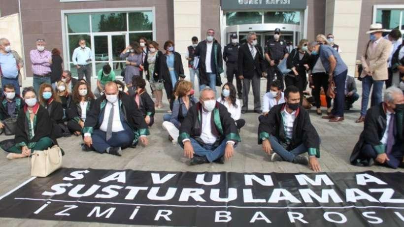 İzmirde avukatlar 15 Ekimde duruşmalara katılmayacak