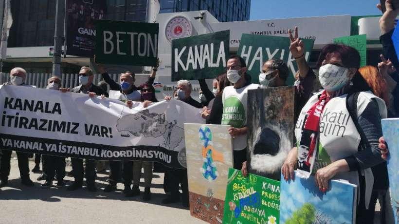 Kanal İstanbul'a karşı itiraz dilekçeleri verildi: Doğa katliamına izin vermeyeceğiz