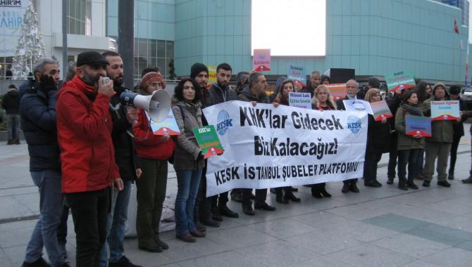 KESK İstanbul Şubeler Platformu: Yüzde 99 değil krizi yaratan yüzde 1 ödesin istiyoruz