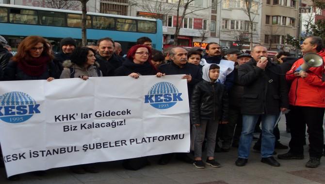 KESK Şişli'den seslendi: kamu emekçileri derhal işlerine iade edilmeli