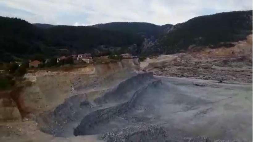 Kömür madeninin açtığı ölüm çukuru İkizköyü yutuyor!