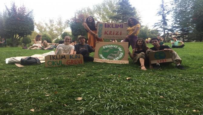 Küresel iklim eylemi Kadıköy'de düzenleniyor