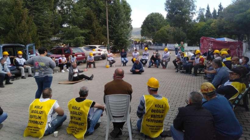 Maden işçileri: Barikatları aşa aşa Ankaraya ulaşacağız