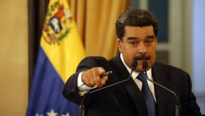 Maduro ABD halkının imza atmasını istediği bildiriyi yayınladı