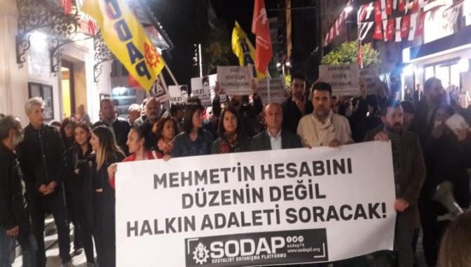 Mehmet Ayvalıtaş davasında mahkemenin beraat kararı sonrasında basın açıklaması