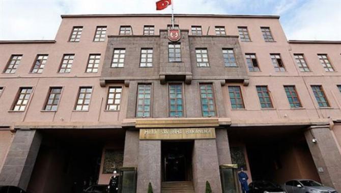 Milli Savunma Bakanlığı'ndan 'harekat' açıklaması