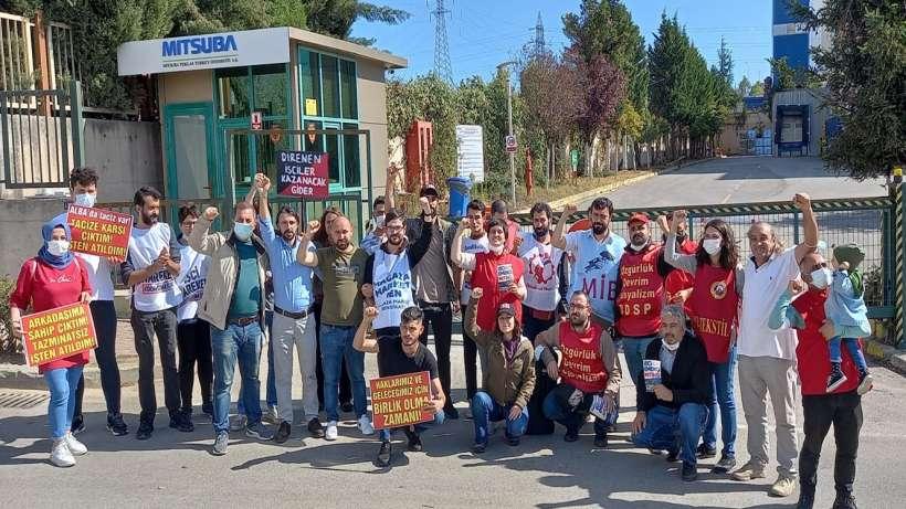 Mitsuba, DGC ve Alba işçilerine destek ve miting çağrısı