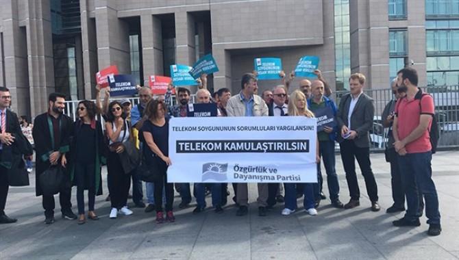 ÖDP'den Telekom'un özelleştirilmesine karşı suç duyurusu