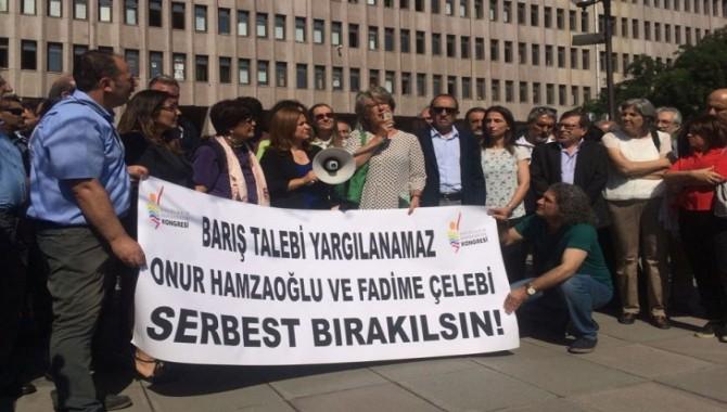 Onur Hamzaoğlu ve Fadime Çelebi hakkında tahliye kararı