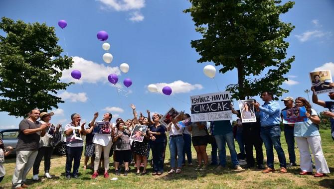 Özgür Basın, tutuklu gazeteciler için  Bakırköy Kadın Kapalı Cezaevi önünde eylem yaptı