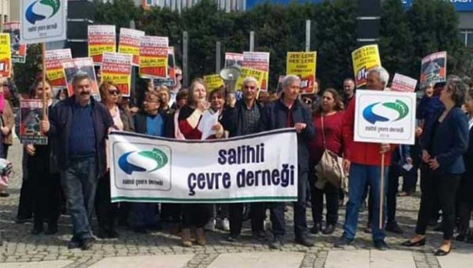 Salihli Çevre Derneği: Doğayı yok edenlere oy yok