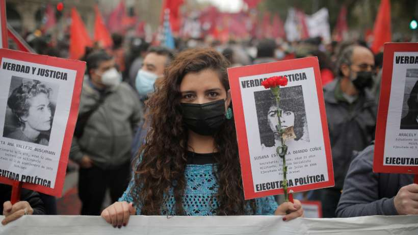 Şili'de darbenin 48. yılında halk sokaktaydı