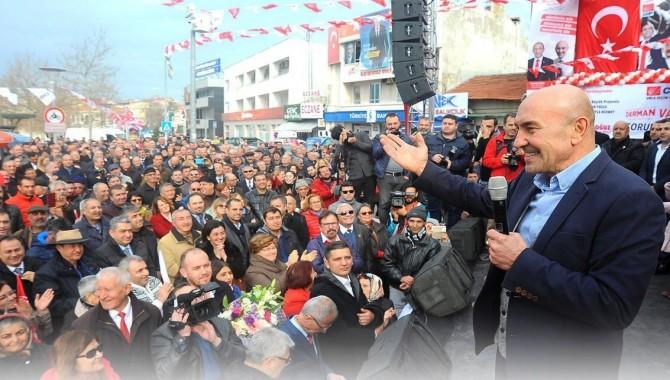 Soyer Urla'da vatandaşlarla buluştu: Hep birlikte bir hikaye yazacağız