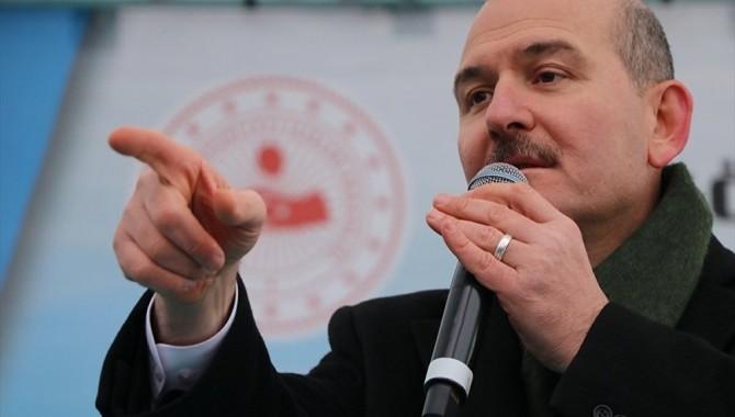 Soylu'dan HDP'li vekillere: Sizi yürüten adam değildir