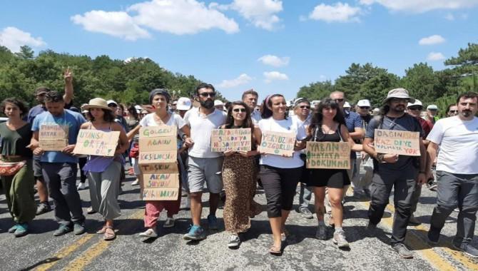 Su ve Vicdan Nöbeti: Kaz Dağları'nda çadır nöbeti devam edecek