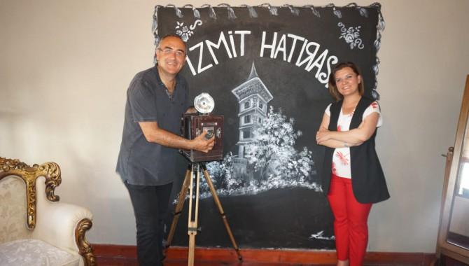 Sunay Akın İzmit Tarih Koridoru'nu gezdi