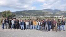 150 maden işçisi işi bıraktı