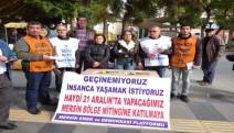 21 Aralık Mersin 'Halk İçin Bütçe Mitingi'ne çağrı