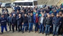 400  madenci işten çıkarılmasına karşı oturma eylemi başlattı