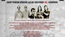 Açlık grevindeki Grup Yorum'a sanatçı akademisyen desteği