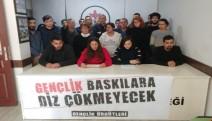Adana'da gençlik örgütleri: baskılara teslim olmayacağız