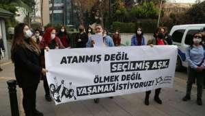 Adana Kadın Platformu'ndan eylem I Erkek adalet değil gerçek adalet istiyoruz