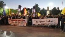 Adana'da kamu emekçilerinin  ihraç edilmesine protesto