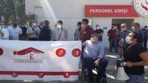 Ankara ve Diyarbakır'da EKPSS protestosu