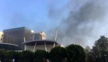 Antalya ATSO'daki patlamaya yayın yasağı