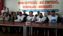 """Antep'te SES üyeleri açıklama yaptı: """"Mücadelemiz sürecek"""""""