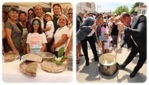 """""""Arnavut Böreği Festivali"""" Urla'nın Gülbahçe Köyü'nde gerçekleşti"""
