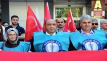 Aydın Sağlık-Sen döner sermayeyi protesto etti