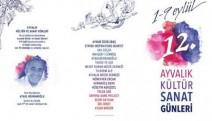 Ayvalık Kültür Sanat Günleri 1-9 Eylül'de yapılacak