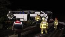 Balıkesir'de kaçakları taşıyan otobüs takla attı: 8 ölü, 42 yaralı