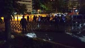 Baro başkanlarının Meclis Çankaya kapısındaki bekleyişi devam ediyor!