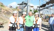 Başkan Soyer, Macera Park'ı gezdi