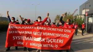 Birleşik Metal-İş'in Ankara yürüyüşü öncesi Kocaeli'de eylemler yasaklandı