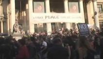 Brüksel'de NATO karşıtı eylem