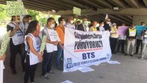 BTS'den TCDD'ye sürgün tepkisi: Çalışan köle değildir
