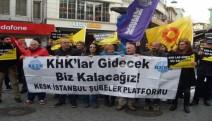 """""""Bu hafta 109.direniş haftasında işimizi geri istiyoruz demek için Beşiktaş'dayız"""""""