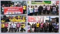 Bursa'da Eğitim emekçileri cezalara karşı yürüdü